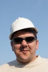 Construction site foreman