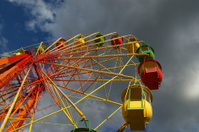 Attraction (Carousel) Ferris wheel