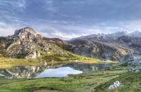 Ercina lake.