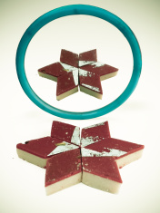 chocolate Barphi an Indian sweet