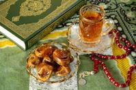 Koran and food.