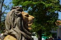 Lion statue in Léon - Nicaragua