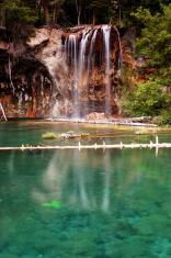 Hanging Lake Waterfall, Glenwood Springs Colorado