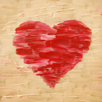 Valentines love heart