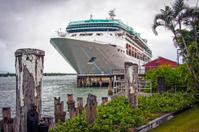 Cruise Liner at Mooring