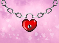 padlock for Valentines