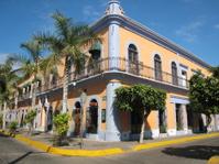 Mazatlan Mexico Colorful Building