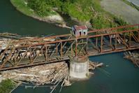 Railroad Brigde LogJam