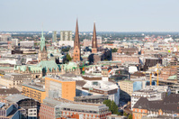 Hamburg City Hall and Landscape