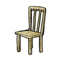 Stuhl comic  Cartoon Chair Stock Vector - FreeImages.com