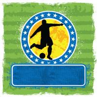 Football player banner