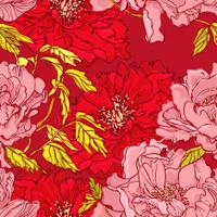 Pink Peony Pattern