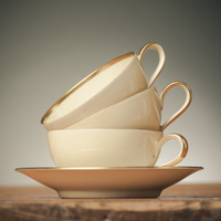 Vintage Tea Cups - Square Crop