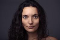 beauty headshot of sexy woman