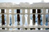 Balcony in snow