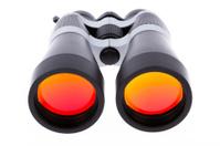 Large binoculars isolated