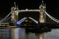 Tower Bridge at night. London. England