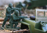 Toy Soldier Gun Battle