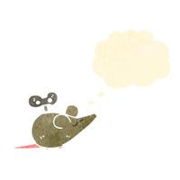 clockwork mouse retro cartoon
