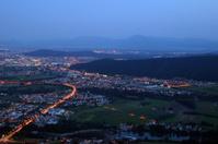 Evening above Ljubljana