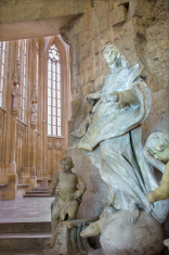 Bratislava - Baroque statue of Immaculate