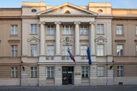 The Croatian Parliament in Zagreb
