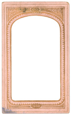 pink old frame