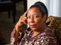 Mature Afican American Woman Portrait