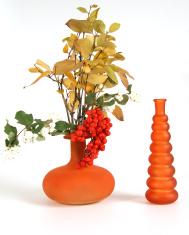 Autumn bouquet in a vase