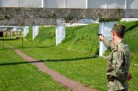 Shooting-range - military training