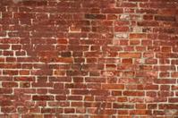baked brick wall