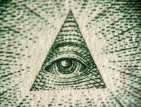Eye of the One Dollar Pyramid