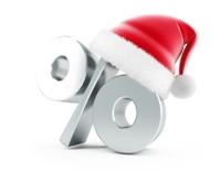 Christmas Sale santa hat