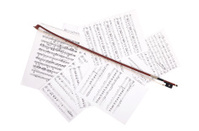 CLose-up  Music Sheet