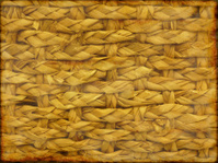 Grunge basket weave