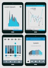 Infographic UX templates