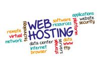 WEB HOSTING Word Cloud Tag