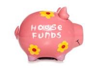 house funds piggy bank