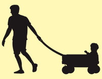 Pulling a Wagon