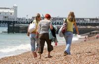 Brighton Beach - England