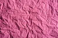 Crumpled paper texture,magenta