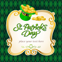 St Patrick's Hat Frame