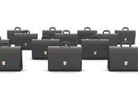 Black business briefcases
