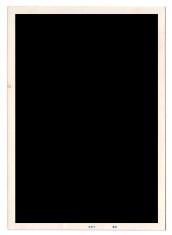 blank old photo frame
