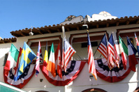 Array Of National Flags