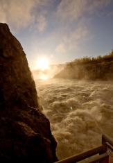 Rat River Dam northern Manitoba Canada
