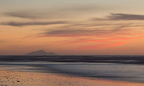 Island Beach Sunset