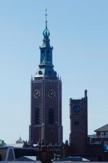Tower of Sint-Jacobskerk church, Hague