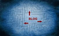 Blog maze concept