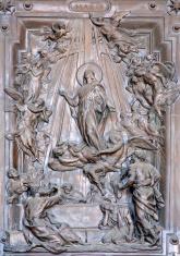 Rome - virgin Mary from gate of Santa Maria Maggiore